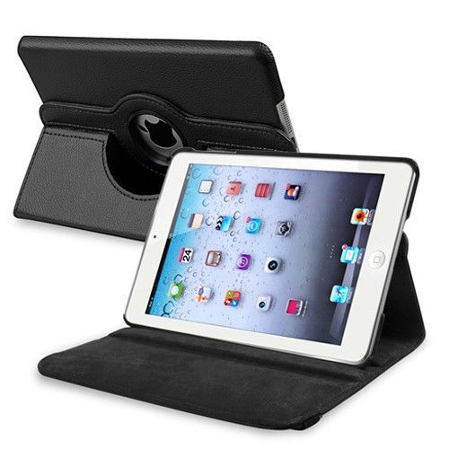 1Pc PU Leather 360 Rotating Case Stand Smart Cover Magnetic Case For Apple Ipad Air And Ipad 9.7 Inch 2017&Amp;2018