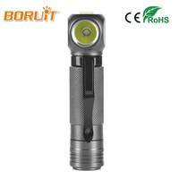 BORUIT Brand 1000 LM XPL V5 LED Headlight Mini Armygreen Flashlight 18650 Battery Headlamp For Camping