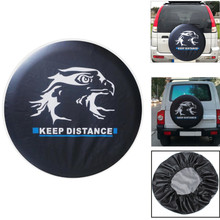 Automobile spare wheel cover spare tyre cover Case 14 15 16 17 Inch car tires 14 car tyres 15 inch for Toyota Suzuki Mitsubish все цены