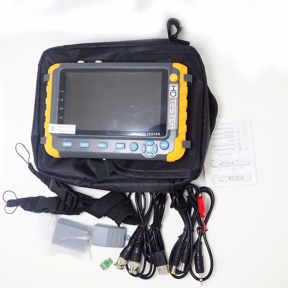 5 inch CCTV TESTER  TFT LCD HD 5MP TVI AHD CVI CVBS Analog camera CCTV Monitor & Display     - title=