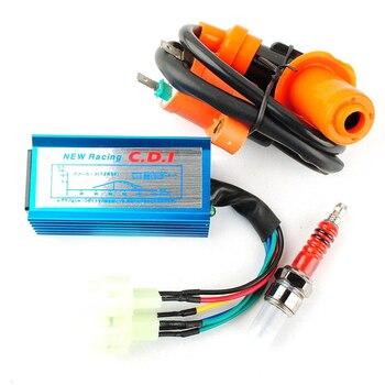 High  Performance Racing Ignition Coil&Spark Plug&AC CDI For GY6 50cc 125cc 150cc