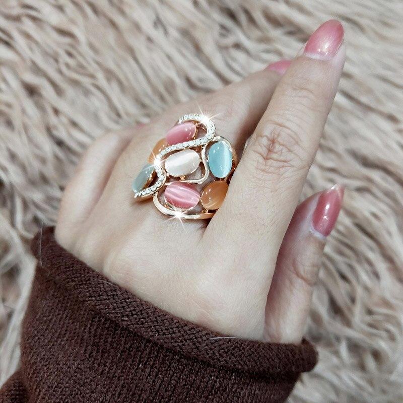 СИНЛЕЕРИ Женскаа Лукури Холлов - Модни накит - Фотографија 3