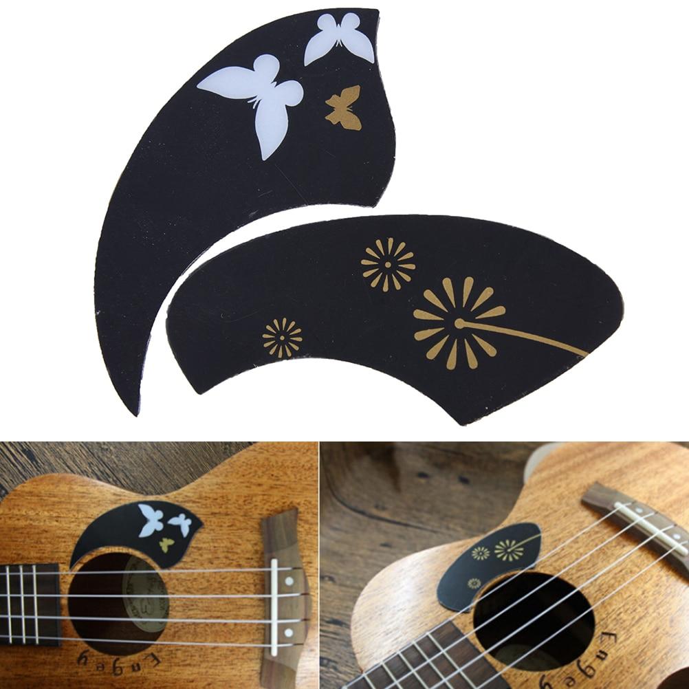 IRIN 1pc Ukulele Pickguard Guitar Scratch Plate Guitar Plates Parts & Accessories Ukulele Protection Sticker