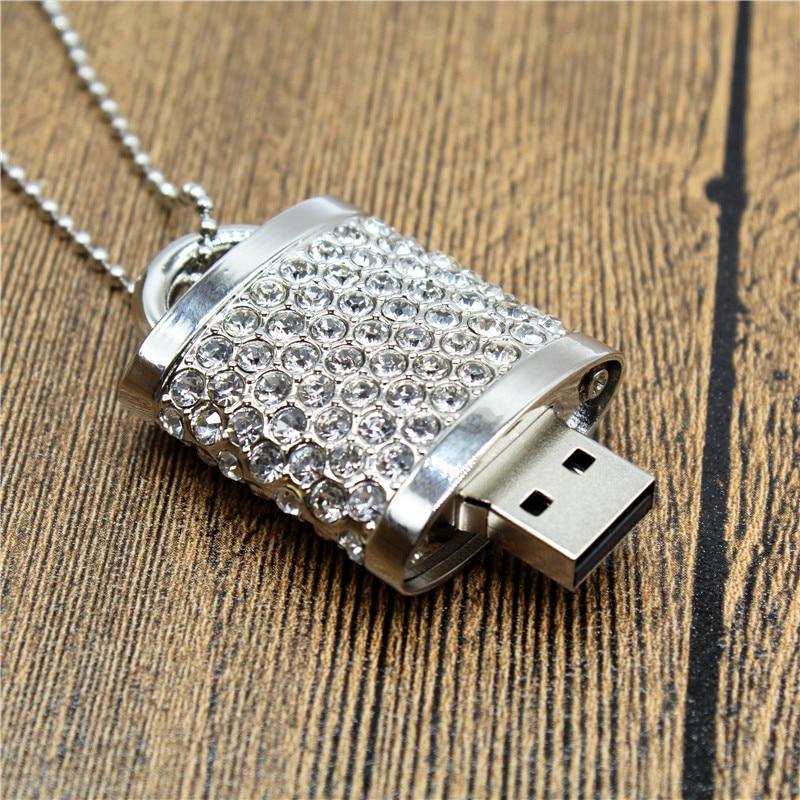 Apacer cristal serrure usb 2.0 pendrive 4 GB 8 GB 16 GB memory stick 64 GB usb flash drivescard