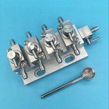 4 канала головка струйного принтера чистящий клапан для Фаэтон Infiniti Gongzheng Liyu принтер Омыватель металлических чернил клапан управления