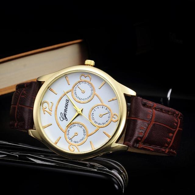 Classic Watch Men Top Brand Luxury Men Watch Leather Clock  2