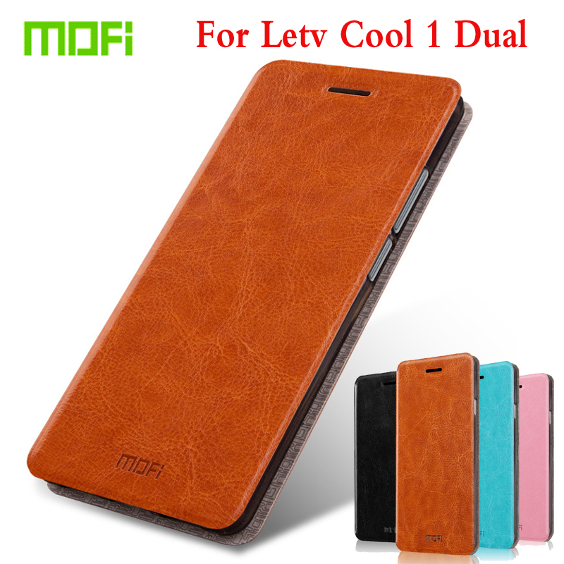 M Mofi Flip PU Leather For LeTV LeEco Cool 1 Dual Phone Case For LeTV LeEco Cool 1 Dual Coolpad Cool1 5.5 Stand Case Cover