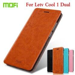 M Mofi Flip PU Leather For LeTV LeEco Cool 1 Dual Phone Case For LeTV LeEco Cool 1 Dual Coolpad Cool1 5.5
