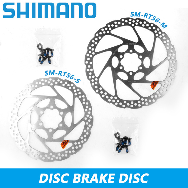 52d06adf941 Shimano SM-RT56 Disc Brake Rotor 6-Bolt 160mm 180mm Cycling Brake Rotors  Mountain