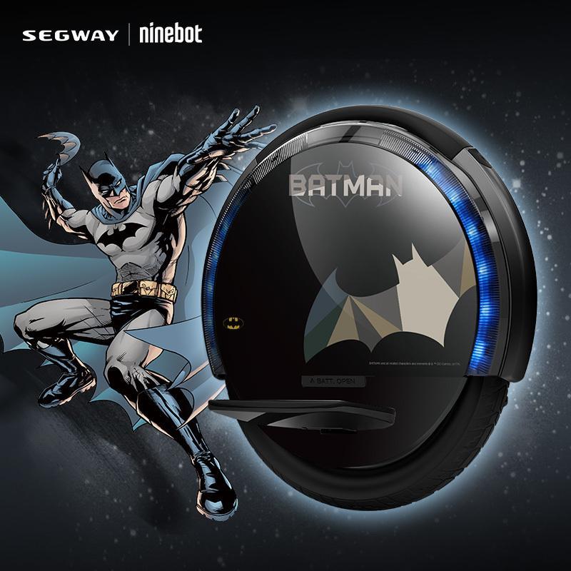 Ninebot один S2 Бэтмен для взрослых и детей электрический одноколесном велосипеде одно колесо Самостоятельного Баланса скутер скейтборд Ховерборд 500 Вт 310WH купить на AliExpress