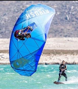 software soft surfing snow kite four line parachute kites paragliders ski windsocks set outdoor cerf volant paraglider kitesurf