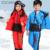 Abrigos de Invierno ruso Bebé Niñas niños Ropa Conjuntos Niños trajes para la Nieve Ropa de Vestir Exteriores de Pato Blanco Abajo Chaquetas de la Capa Caliente GH187