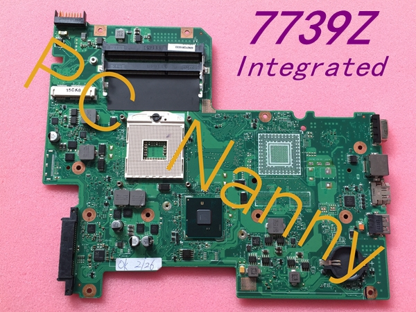 Genuine FOR Acer Aspire 7739Z Motherboard MBRN60P001 AIC70 Intel HD Graphics HM55 Tested! motherboard for acer aspire 7339 7739 emachines e729 e729z mbrn60p001 08n1 0nx3g00 aic70 main board 100% tested good