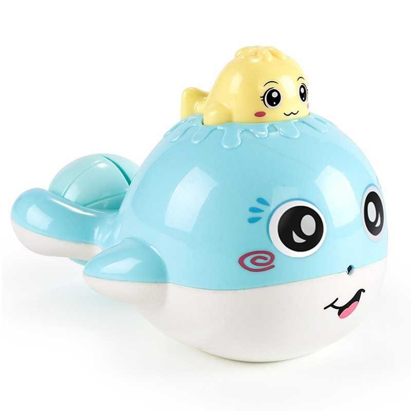Детские игрушки для ванной, душ, вода, маленький кит, детская ванная комната, играть в воду, образовательные детские игрушки, игрушки для детей, мальчиков, девочек, подарок для младенцев