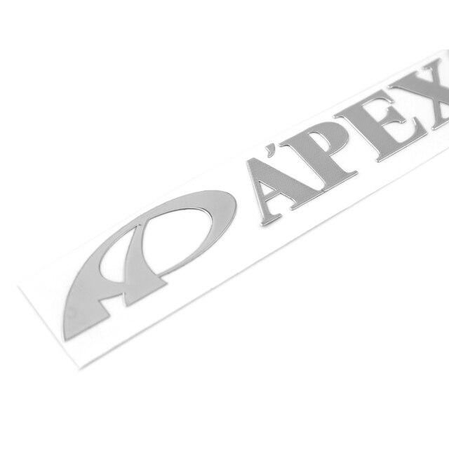 1pcs 9013mm car sticker design motorcycle accessories high quality apexi sticker car accessories custom