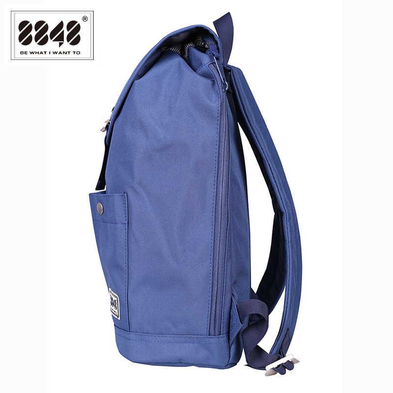 8848 mochila mujeres mochila elegante portátil, mochila de los hombres Anti-ladrón diseño impermeable mochila de viaje de 132- 028-011