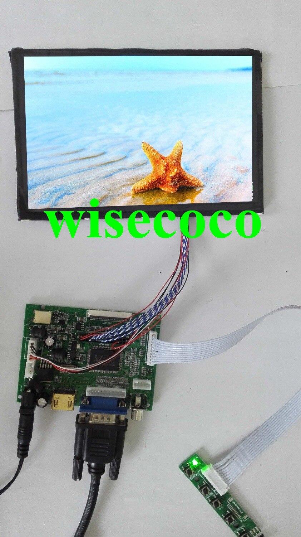 100% тестирование новый для Raspberry Pi 1280 * N070ICG-LD1 800 ips 7 дюймов ЖК дисплей экран дисплей удаленного драйвера управление доска 2AV HDMI VGA