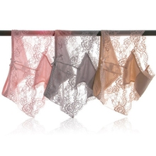 Luxury 7 Solid Colors Underwear Women Panties L XL XXL Sexy Lace Fashion Summer Briefs Waist for