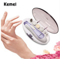 KM-3522 New Arrival Nail Art Tip Electric Manicure Toenail Drill File Tool Nail Grinder Polisher Set Free Shipping