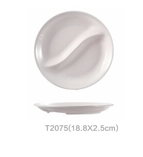 Dishes \u0026 Plates Rice Dish Melamine tableware white plate Dining plate of school dining room T2075  sc 1 st  AliExpress.com & Aliexpress.com : Buy Dishes \u0026 Plates Rice Dish Melamine tableware ...
