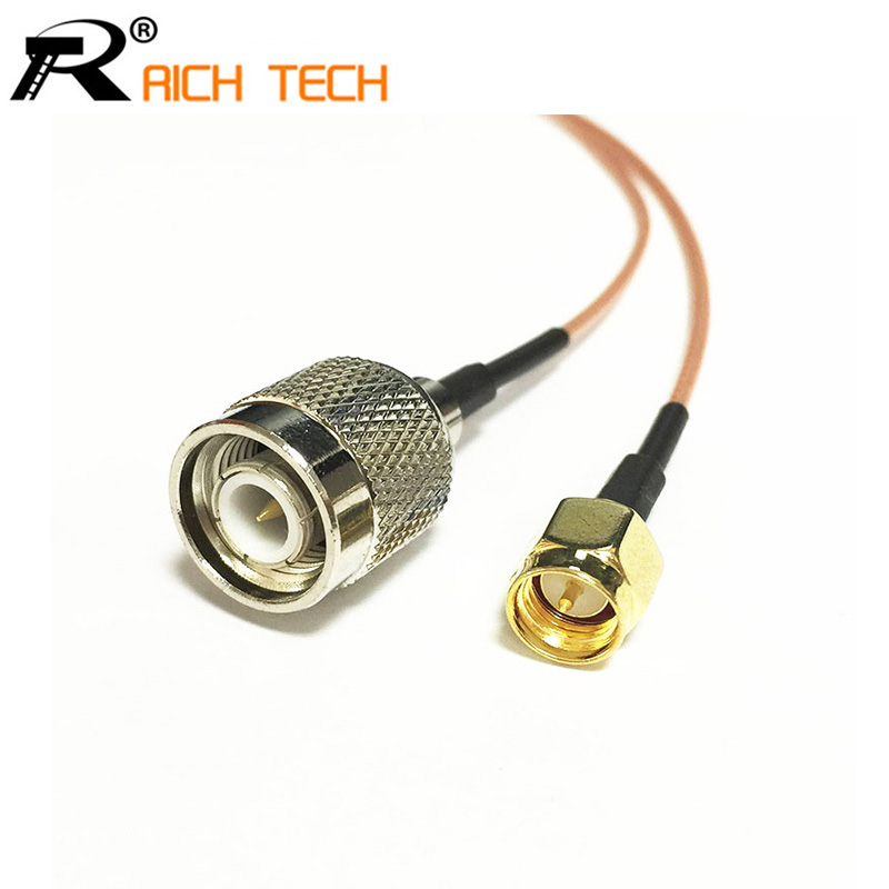 WIFI antenna adapter SMA to TNC male plug pigtail cable/switch RG178 15cm стоимость