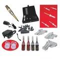 Maquiagem permanente sobrancelha kit máquina de tatuagem arma conjunto de cosméticos 3D airbrush tatuagem permanente kit
