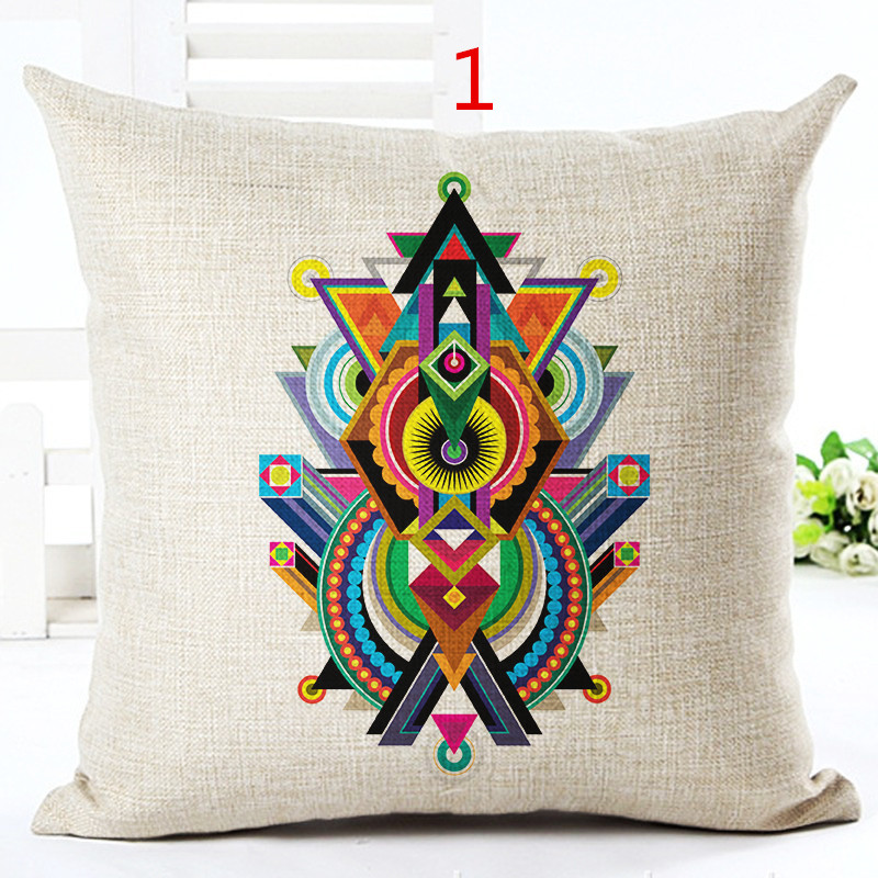 2016High Quality Fashion Items Home Decor Linen Cushion Custom Pillow Chair Decor Couch