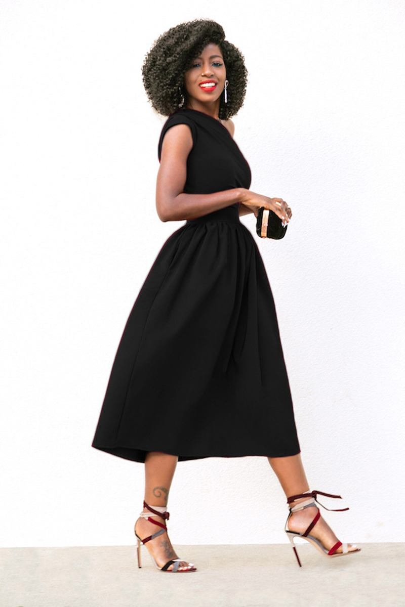 Nantersan Off Shoulder Solid Summer <font><b>Dress</b></font> Women <font><b>Sexy</b></font> Empire Mid-calf Vintage Polyester Black Blue <font><b>Red</b></font> <font><b>Dress</b></font> image
