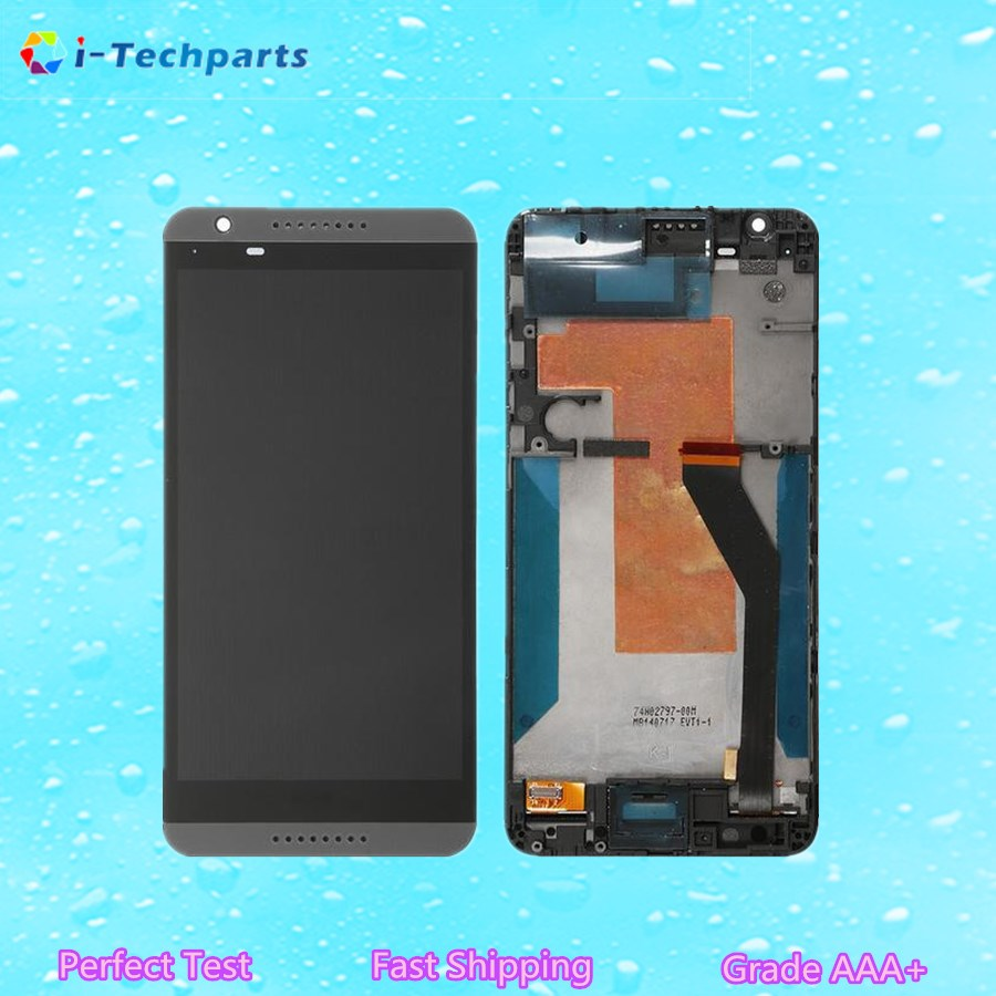 ФОТО Original New For HTC Desire 820 LCD Display Touch Digitizer Screen Assembly with Logo and Frame,White Black