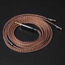 NICEHCK 8 Core 6N GC OCC Einzigen Kristall Kupfer Kabel MMCX/2Pin 3.5/2.5/4,4mm Ausgewogene Für LZ A7 ST10S NICEHCK NX7 MK3/M6/EBX/F3
