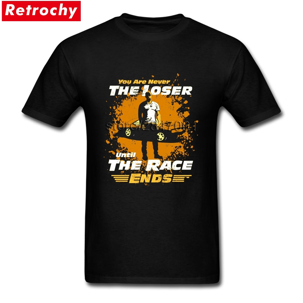 2017 Hip Hop Rap Tee Shirt Fast and Furious Mens Best Fitted Short Sleeved Bespoke Tees Party Oversized Merchandise