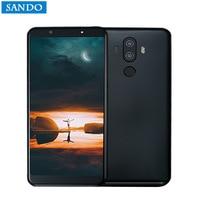 Global Version M6 Smartphone 6GB RAM 128GB ROM NFC 13MP Dual Camera Thin Phone 4000mAH Battery Cellphone Fingerprint