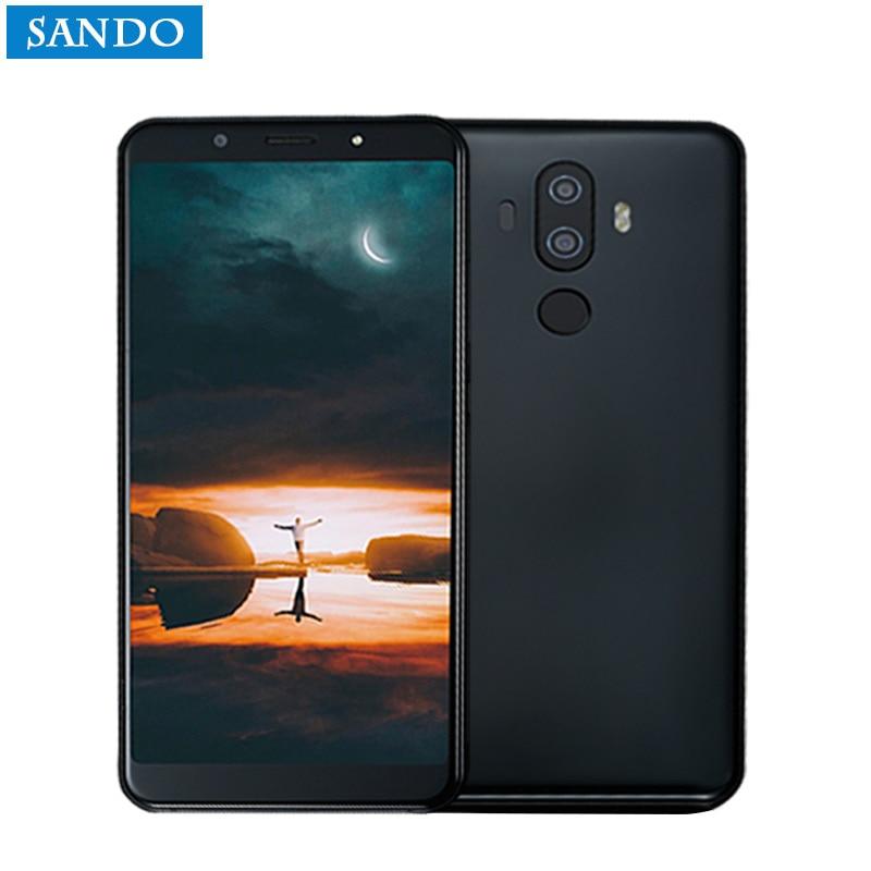 Version mondiale M6 Smartphone 6 GB RAM 128 GB ROM NFC 13MP double caméra mince téléphone 4000 mAH batterie téléphone portable empreinte digitale