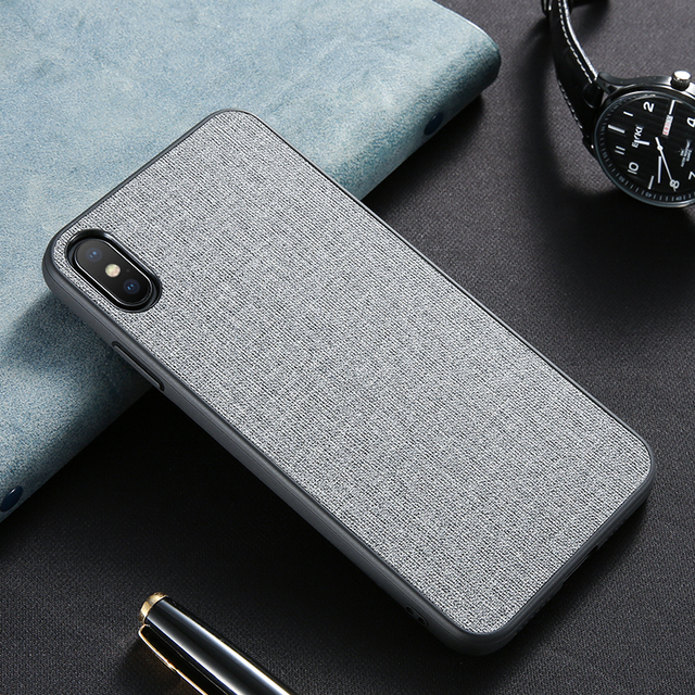 Чехол c тканевой текстурой для Honor Huawei, FLOVEME