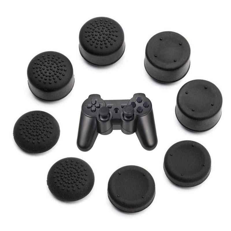Gen Game 8pcs PS4 Playstation DualShock 4 Pro 슬림 컨트롤러 교체 스왑 Thumbsticks XBOX One Elite 용 조이스틱 캡
