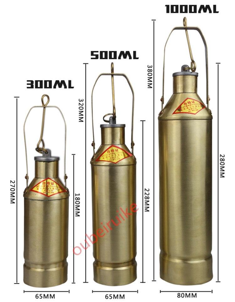 Sıvı Numune Kazanı 300ML Yağ Numune Alma Kovası Petrol Yağı - Araç Içi Aksesuarları - Fotoğraf 1