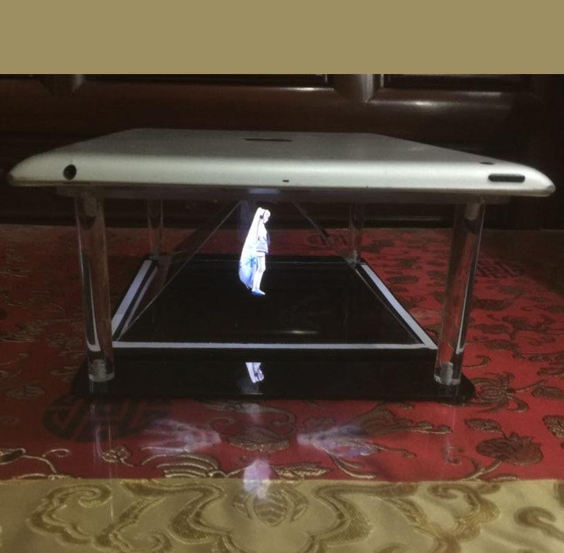Tableta Holografike PC 3D Piramida e Projektit Holografik DIY për - Audio dhe video në shtëpi - Foto 6