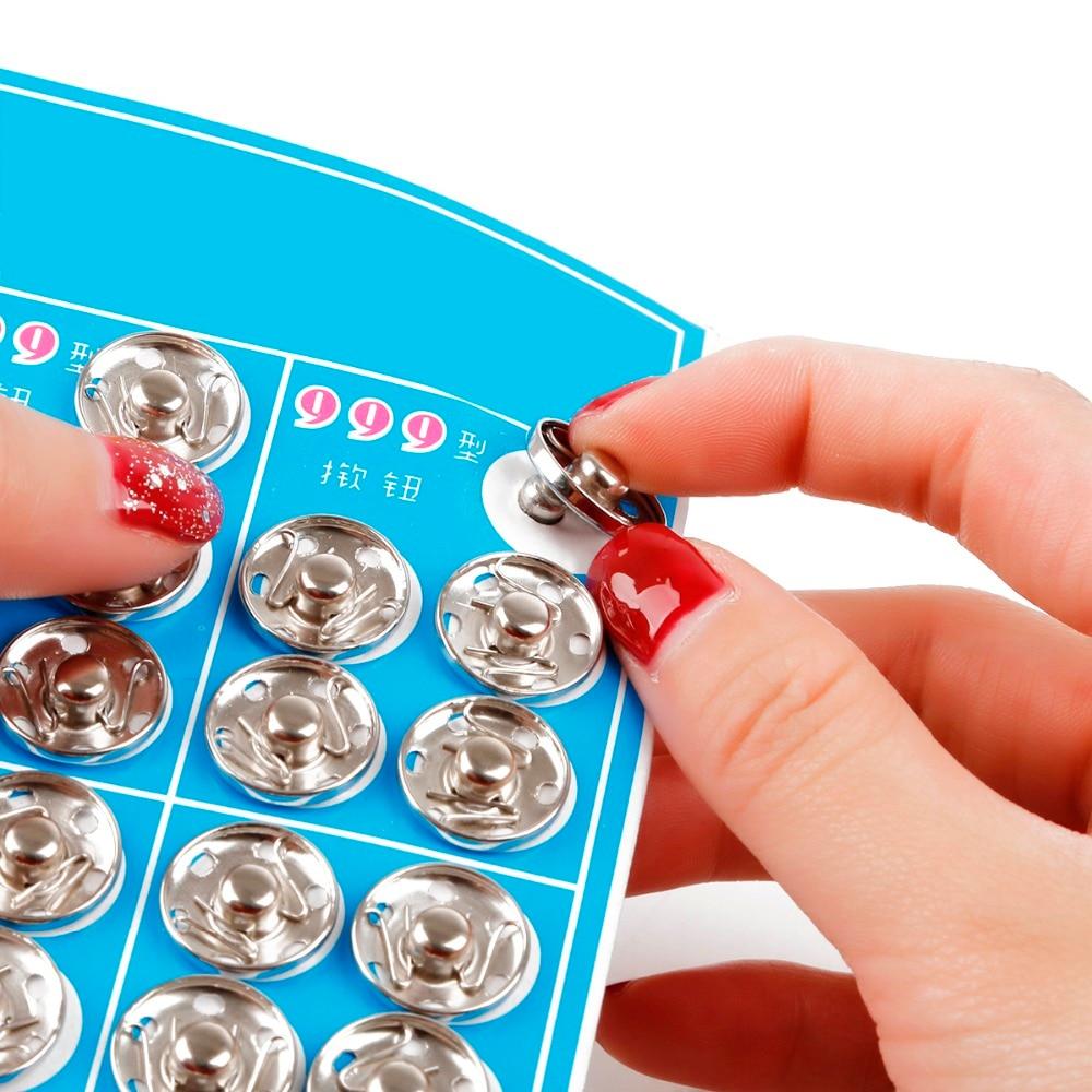 8/10/12/14/16/18 мм черно-белые маленькие металлические защелкивающиеся кнопки, нажимная кнопка, шпилька, встроенная пряжка