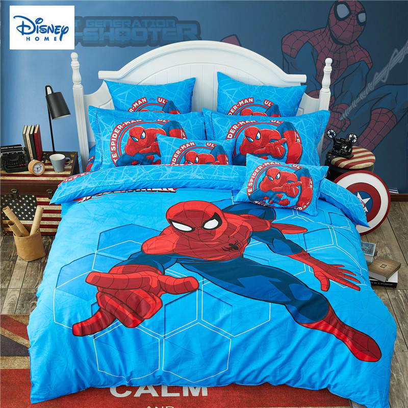3D Spider man bedding set for kids comforter duvet covers twin size bedroom decor queen bed sheets cotton bedspread 3-5 pieces3D Spider man bedding set for kids comforter duvet covers twin size bedroom decor queen bed sheets cotton bedspread 3-5 pieces