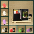 2015 Hot Mobile Phone Bag Cover Case with Card holder Leather Wallet Style Stand Case For Nokia Asha 503 Multicolor