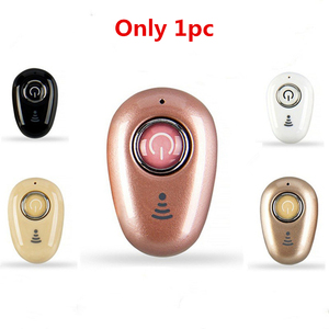 Image 5 - Invisível ultra pequeno esportes mini estéreo s650 bluetooth fone de ouvido sem fio 1earbud para esportes masculinos