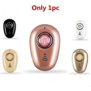 Image 5 - בלתי נראה קטן במיוחד ספורט מיני סטריאו S650 Bluetooth אוזניות אלחוטי 1earbud עבור גברים נשים ספורט