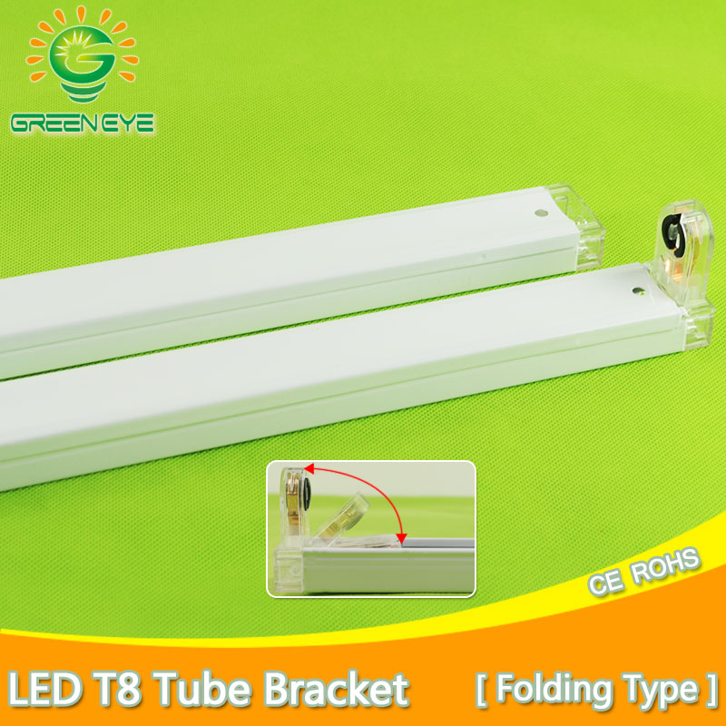 1~10pcs LED T8 Tube Bracket For 2Ft 60cm 600mm Fluorescent Lamp Tube Light Fixtures /Support/Stent/Connection/Base/Holder/Socket