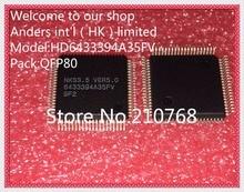 5 pcs/lot HD6433394A35FV 6433394A35FV QFP80