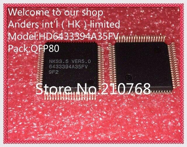 5pcs/lot        HD6433394A35FV         6433394A35FV        QFP80