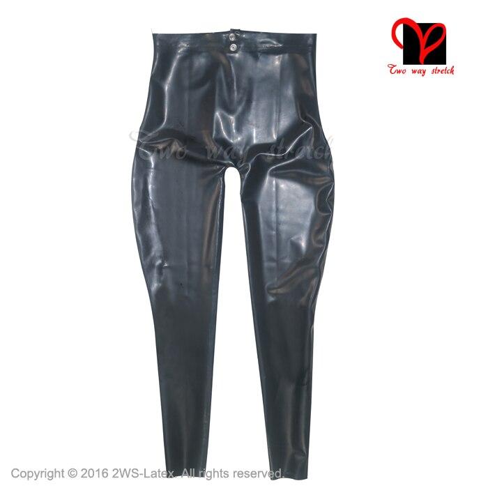 PUNK RAVE Frauen Hosen Punk Mode Persönlichkeit Pu Leder Schwarz Leggings Sexy Hip Hop Streetwear Skinny Hosen - 4