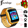 Funelego 2017 New Children GPS Tracker Phone Watch G900A Touch Screen Clocks Wristwatch Support SIM Card