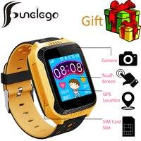 Funelego 2017 Nouveau Q528 Montre Smart Watch Pour Enfants Enfants GPS Tracker Téléphone Montre Q42 Tactile Écran Horloges Montre-Bracelet Soutien SIM carte