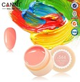 CANNI 140 Color Gel Paint Solid Pure Glitter UV Soak Off Gel Builder Gel Nail Art French Tips Deco 630-641