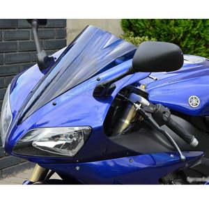 parabrisas de motocicleta con kit de montaje Artudatech Parabrisas de motocicleta de pl/ástico parabrisas parabrisas pantalla de viento para B M W G310R 2017 2018